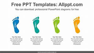 Human Footprint Powerpoint Diagram Template Human Footprint Powerpoint Diagram Template