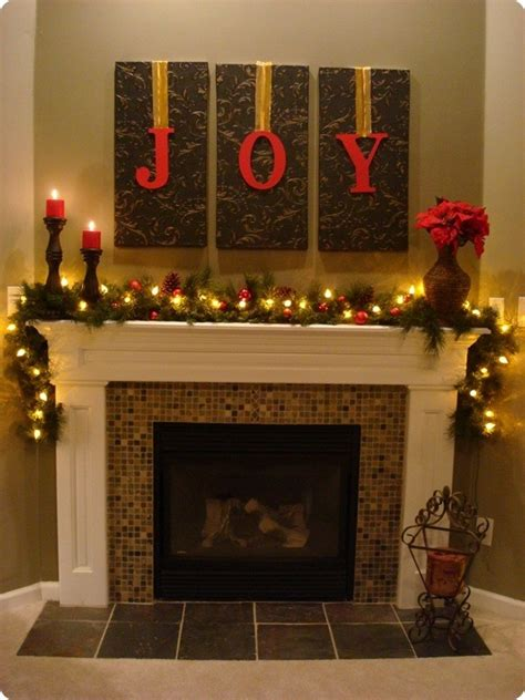 amazing diy fireplace mantel christmas makeovers