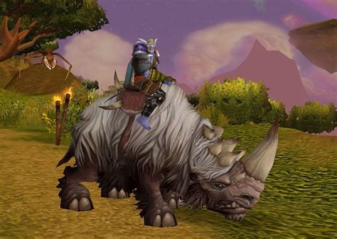 wooly white rhino spell world  warcraft