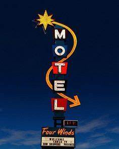 1000 images about Hotel and Motel Vintage Signs on
