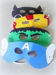 Easy, Superheroes, Masks, With, Images