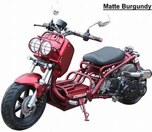 Ice Bear  U0026quot New Maddog U0026quot  150cc Scooter Street Bike With Led