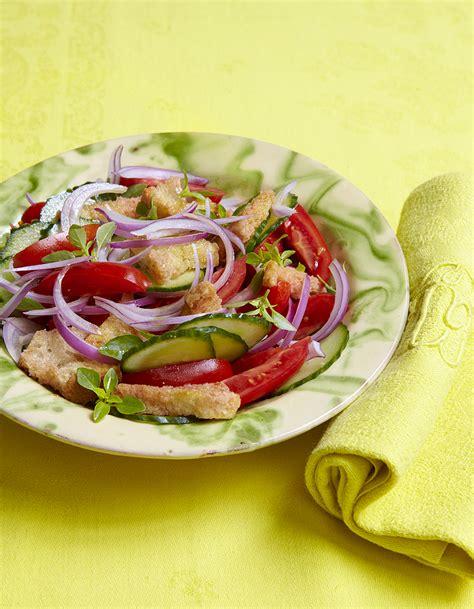 recette de cuisine 2 panzanella pour 6 personnes recettes à table