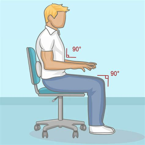 bonne posture au bureau bien s asseoir à bureau mal de dos