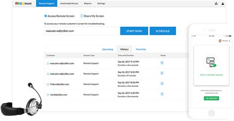 logiciel bureau a distance logiciel gratuit d 39 assistance et d 39 accès à distance zoho