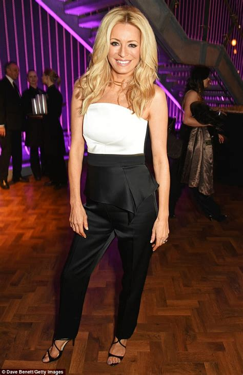Tess Daly is joined by supportive husband Vernon Kay ...