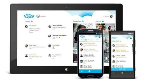 skype app android skype for android update makes it easier to find your