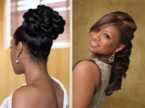 African American Bridal Hairstyle