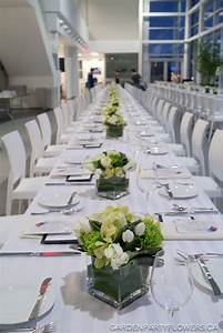 BMW Langley Long Table Event - Garden Party Flowers