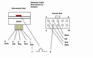 Interfacing A Digital Micrometer To A Arduino  U0026 Vga Monitor