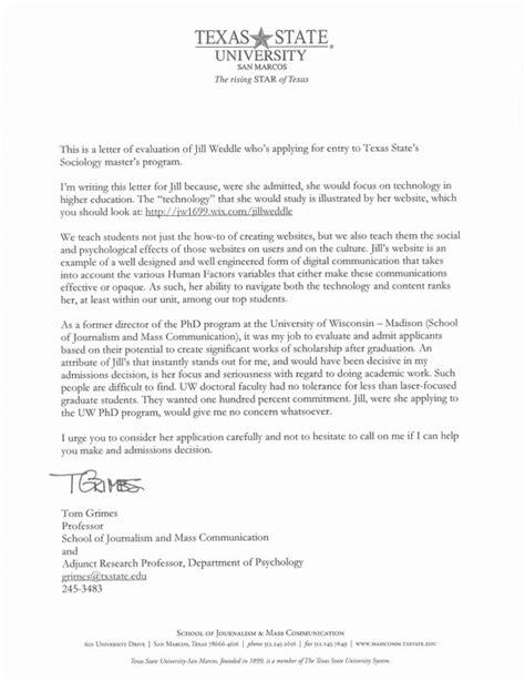 Vanderbilt Application Resume by Recommendation Letter For Graduate School Application Top 6 College Re Mendation Letter