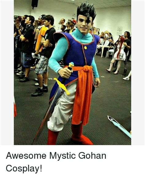 Meme Cosplay - at awesome mystic gohan cosplay gohan meme on sizzle