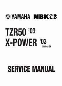 Yamaha Tzr-50   X-power   Service Repair Manual