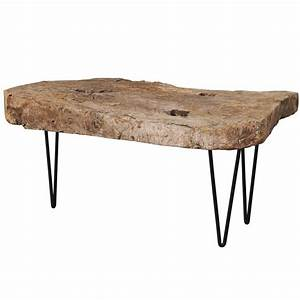custom made coffee table of old natural rustic spanish With rustic natural wood coffee tables