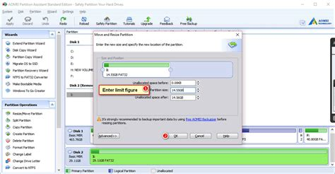 resize sd card partition  windows  safely