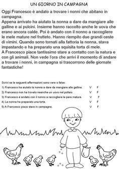comprensione testo classe terza elementare risultati immagini per schede didattiche italiano