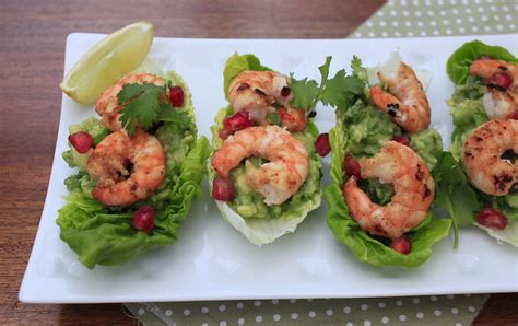 canapes with prawns prawn avocado lettuce cup canapes ao eat