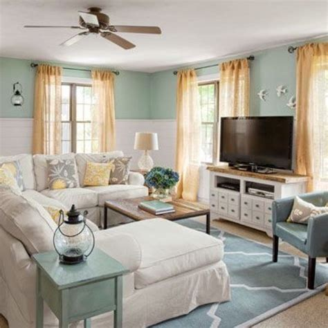 cottage living rooms pretty living room colors for inspiration hative Coastal