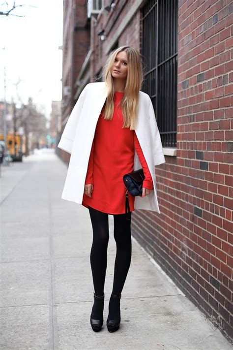How To Mix u0026 Combine White With Red Outfits 2018 ...