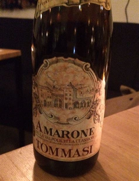 tommasi amarone  pastor restaurant spanish kitchen wines