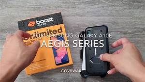 For Samsung Galaxy A10e Covrware Aegis Series Holster Case