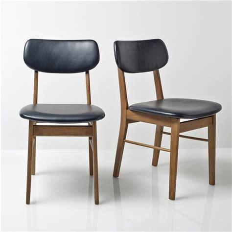 chaise de bar la redoute chaise hévéa lot de 2 quilda la redoute interieurs
