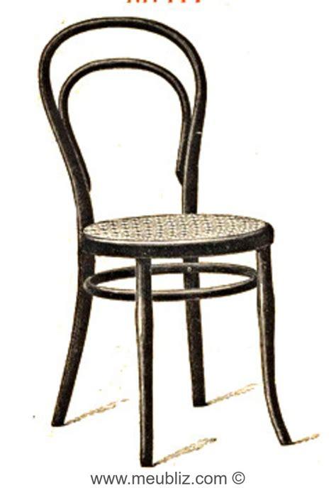chaises thonet chaise n 14 par michael thonet