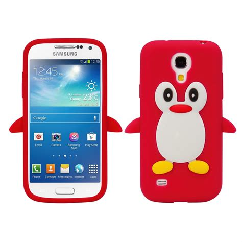design telefone samsung galaxy s4 mini i9190 i9195 silikon pinguin tpu schutz hülle cover ebay