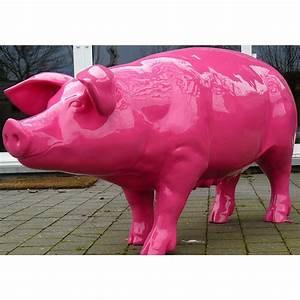 Objet Deco Exterieur : objet d co cochon en r sine pour ext rieur texartes ~ Carolinahurricanesstore.com Idées de Décoration