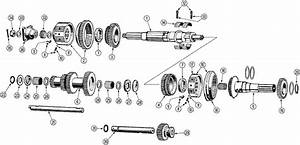 Transmission Parts Morgan  4 Plus 4