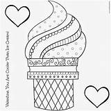 Ice Cream Coloring Pages Print sketch template