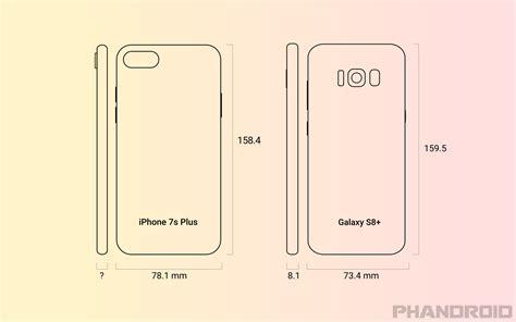 iphone   galaxy  size comparison rumor