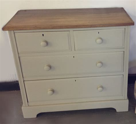 furniture for bedrooms edwardian 2 over 2 under chest of drawers painted in 11621 | c0e6664c7aef020bcac3e34a8cc11621