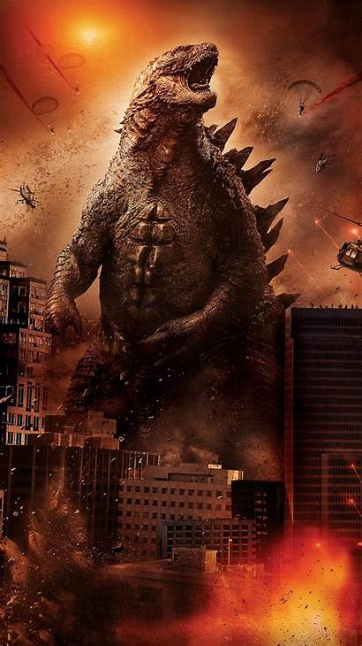 Godzilla Phone Wallpapers Movies Wallpaperaccess Backgrounds Comics