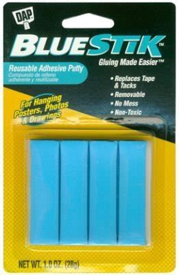 Dap Blue Stick Reusable Adhesive Putty (6 Pack)   Buy