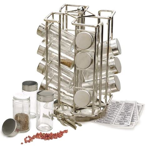 Spice Sets With Racks by Rsvp Revolving Spice Rack Set On Sale Free Shipping Us48