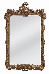 Miroir Baroque Doré : miroir baroque dor coquille demeure et jardin ~ Teatrodelosmanantiales.com Idées de Décoration