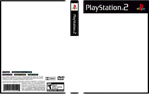 Ps2 Cover Template - Costumepartyrun