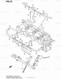 Suzuki Motorcycle 2002 Oem Parts Diagram For Throttle Body