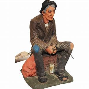 Wonderful Signed Michael Garman Hobo Sculpture