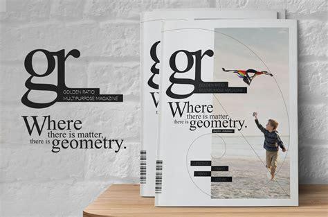 golden ratio magazine template magazine templates