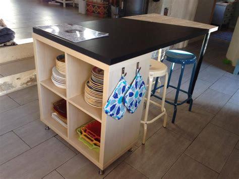 ot de cuisine ikea un nouvel îlot de cuisine avec kallax recherche