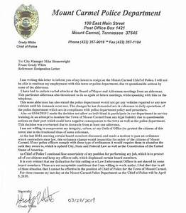 Resignation Letter Format In Word File Free 6 Police Officer Resignation Letters In Pdf Ms Word