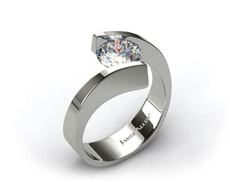 Style Modern Setting by Modern Engagement Rings For The Style Savvy