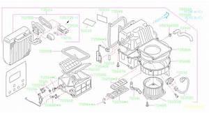 2001 Subaru Forester Hvac Blower Motor Resistor  Heater