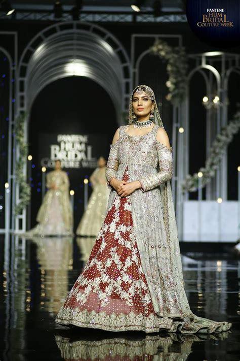 uzma babar bridal collection  bridal couture week