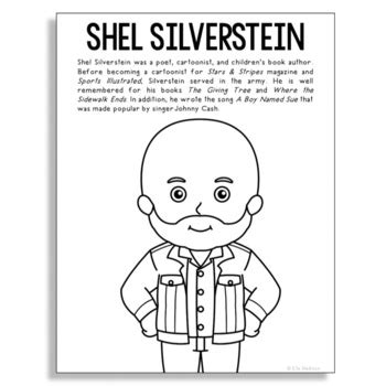 shel silverstein famous author informational text