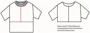 Bolero Jacket T Shirt Makeover