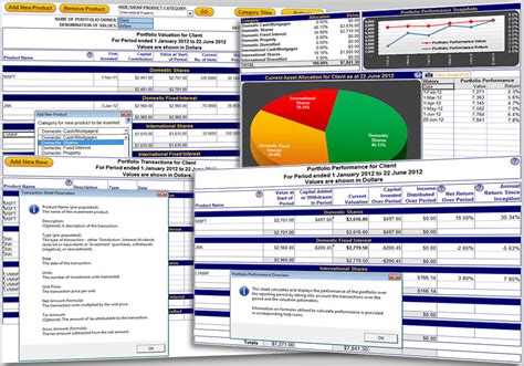 stock portfolio excel template excel portfolio tracking