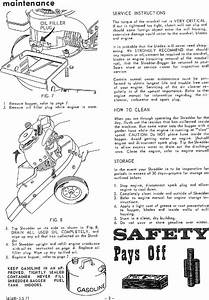 Craftsman 917285230 User Manual Sears Shredder Bagger